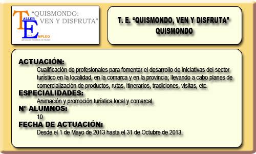 QUISMONDO VEN Y DISFRUTA (QUISMONDO)