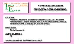 EL LUGAR DE LA MANCHA - EMPRENDE (LA PUEBLA DE ALMORADIEL)