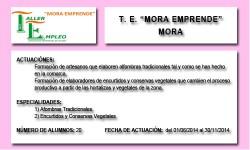 MORA EMPRENDE (MORA)