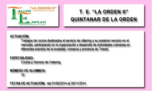 LA ORDEN II (QUINTANAR DE LA ORDEN)