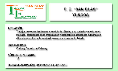SAN BLAS (YUNCOS)