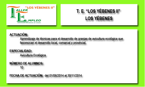 LOS YÉBENES II (LOS YÉBENES)
