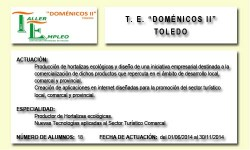DOMÉNICOS II (TOLEDO)