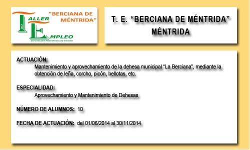 BERCIANA DE MÉNTRIDA (MÉNTRIDA)