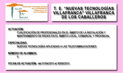 NUEVAS TECNOLOGIAS VILLAFRANCA (VILLAFRANCA DE LOS C.)