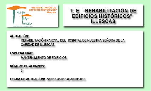 REHABILITACIÓN DE EDIFICIOS HISTÓRICOS (ILLESCAS)