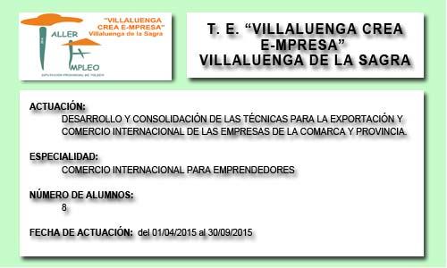VILLALUENGA CREA E-MPRESA (VILLALUENGA DE LA SAGRA)