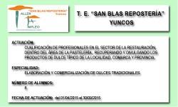 SAN BLAS REPOSTERÍA (YUNCOS)