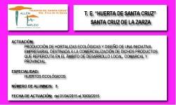 HUERTA DE SANTA CRUZ (SANTA CRUZ DE LA ZARZA)