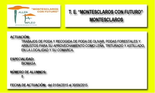 MONTESCLAROS CON FUTURO (MONTESCLAROS)