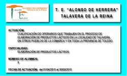 ALONSO DE HERRERA (TALAVERA DE LA REINA)