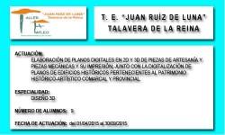 JUAN RUIZ DE LUNA (TALAVERA DE LA REINA)