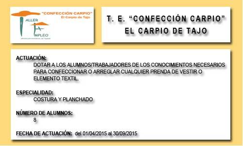 CONFECCIÓN CARPIO (EL CARPIO DE TAJO)