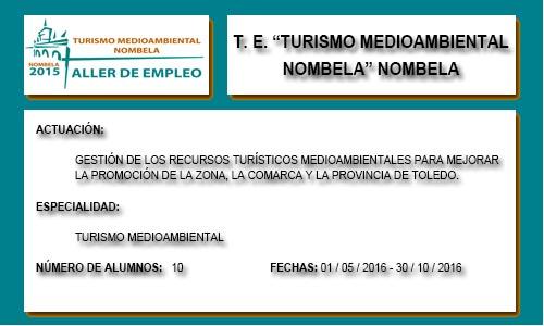 TURISMO MEDIOAMBIENTAL NOMBELA (NOMBELA)