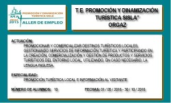 PROMOCIÓN Y DINAMIZACIÓN TURÍSTICA SISLA (ORGAZ)