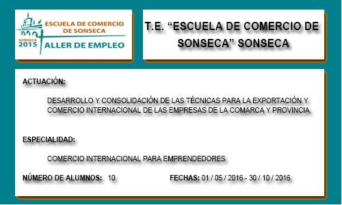ESCUELA DE COMERCIO DE SONSECA (SONSECA)