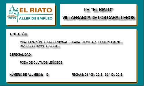 EL RIATO (VILLAFRANCA DE LOS C.)