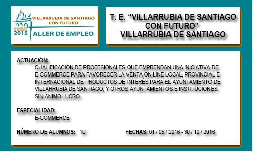 VILLARRUBIA DE SANTIAGO CON FUTURO (VILLARRUBIA DE S.)