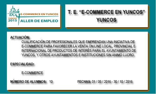 E-COMMERCE EN YUNCOS (YUNCOS)