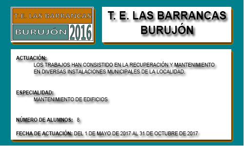 LAS BARRANCAS (BURUJÓN)