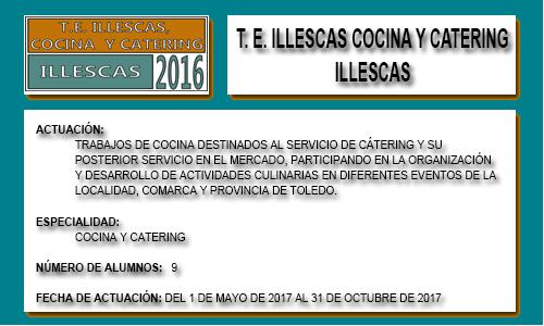 ILLESCAS COCINA Y CATERING (ILLESCAS)