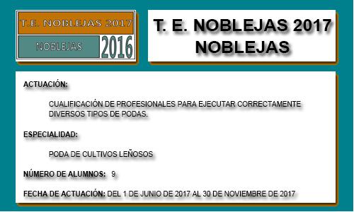 NOBLEJAS 2017 (NOBLEJAS)