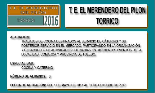 EL MERENDERO DEL PILÓN (TORRICO)