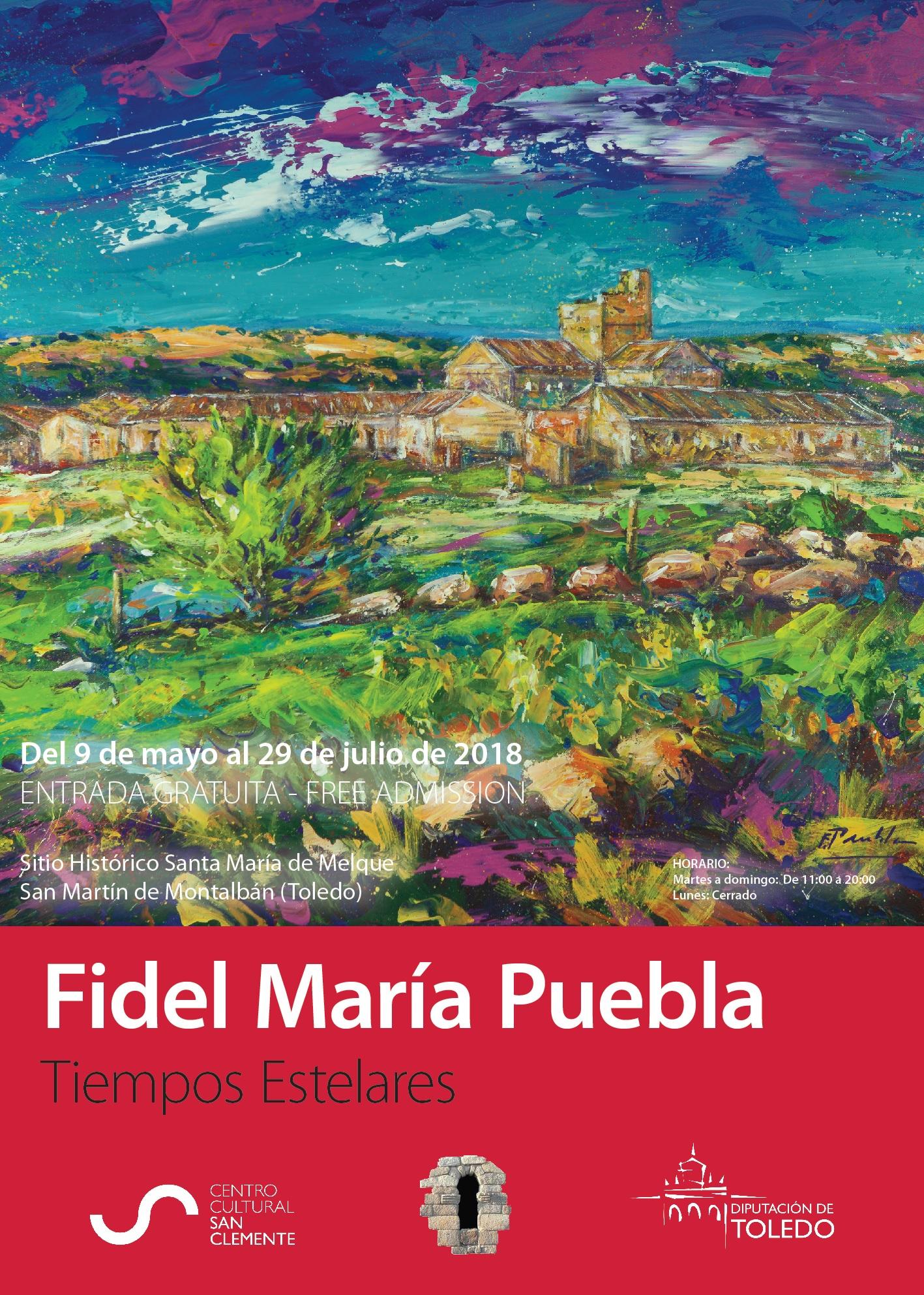 Cartel Fidel María Puebla