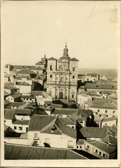 zh.-Iglesia de San Ildefonso, desde la torre de la Catedral