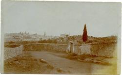 k.- Toledo desde el camino de la Ermita de La Bastida