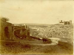 m.- Castillo de San Servando y Puente de Alcántara