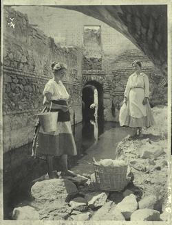 d.-Lavadoras de lana en el Tajo