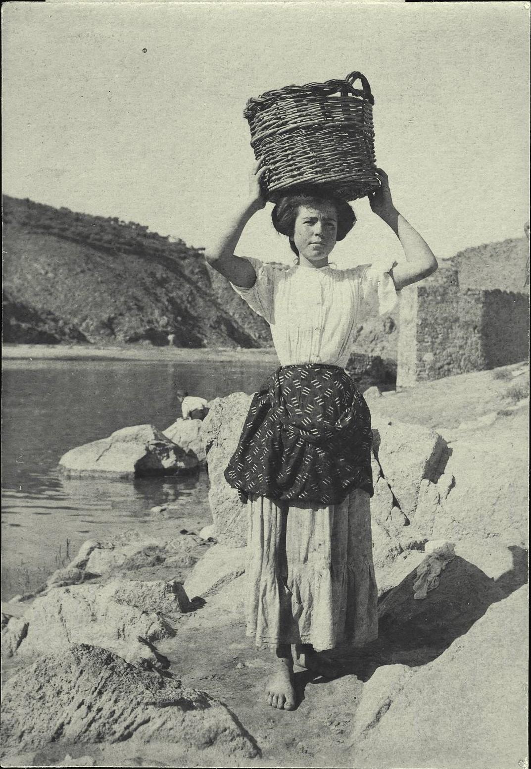 i.-Lavandera en las orillas del río Tajo
