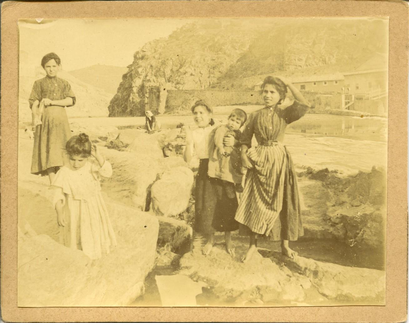 za.-Lavanderas en el río Tajo