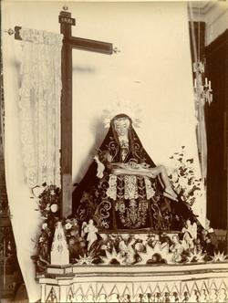 m.-Imagen de la Virgen de Santa Justa llamada La Dolorosa