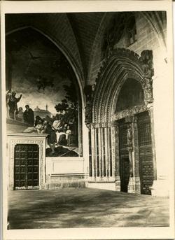 r.-Claustro de la Catedral de Toledo