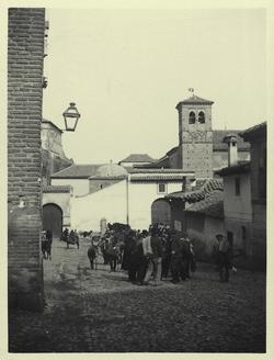 a.-Mercado de ganado junto al Convento de la Concepción