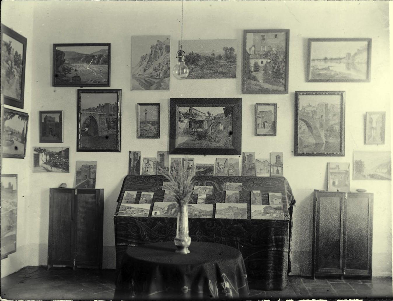 d.-Estudio del pintor en Plaza de San Justo nº 3