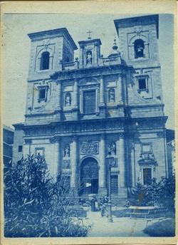 n.-Fachada de la Iglesia de San Ildefonso en Toledo