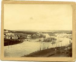 v.-El río Tajo con la Solamilla y la Fábrica de Armas