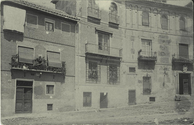 b.-Domicilios del pintor. Año 1935
