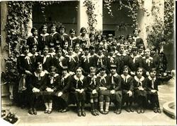 y.-Antonia Román en el Colegio de la Inmaculada Concepción