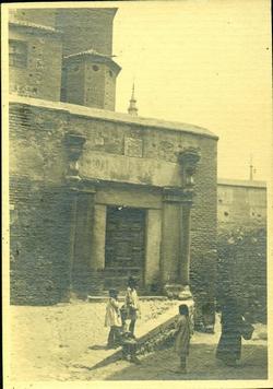 zc.-Puerta del cuartel de la Trinidad junto a San Marcos