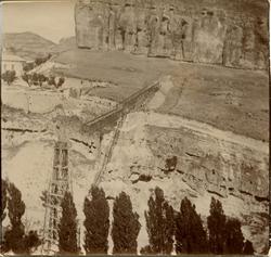 l.-Construcción del Puente de San Pablo (Cuenca) 1902