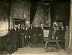 n.-Título de Hijo Adoptivo al Conde de Casal (1930)