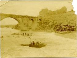 q.-Accidente en el río junto al Puente de San Martín