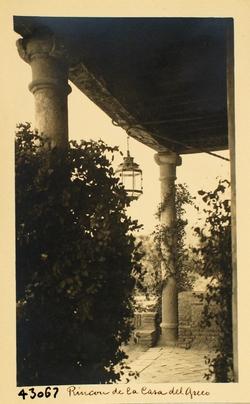 43067-Pórtico de la Casa de El Greco