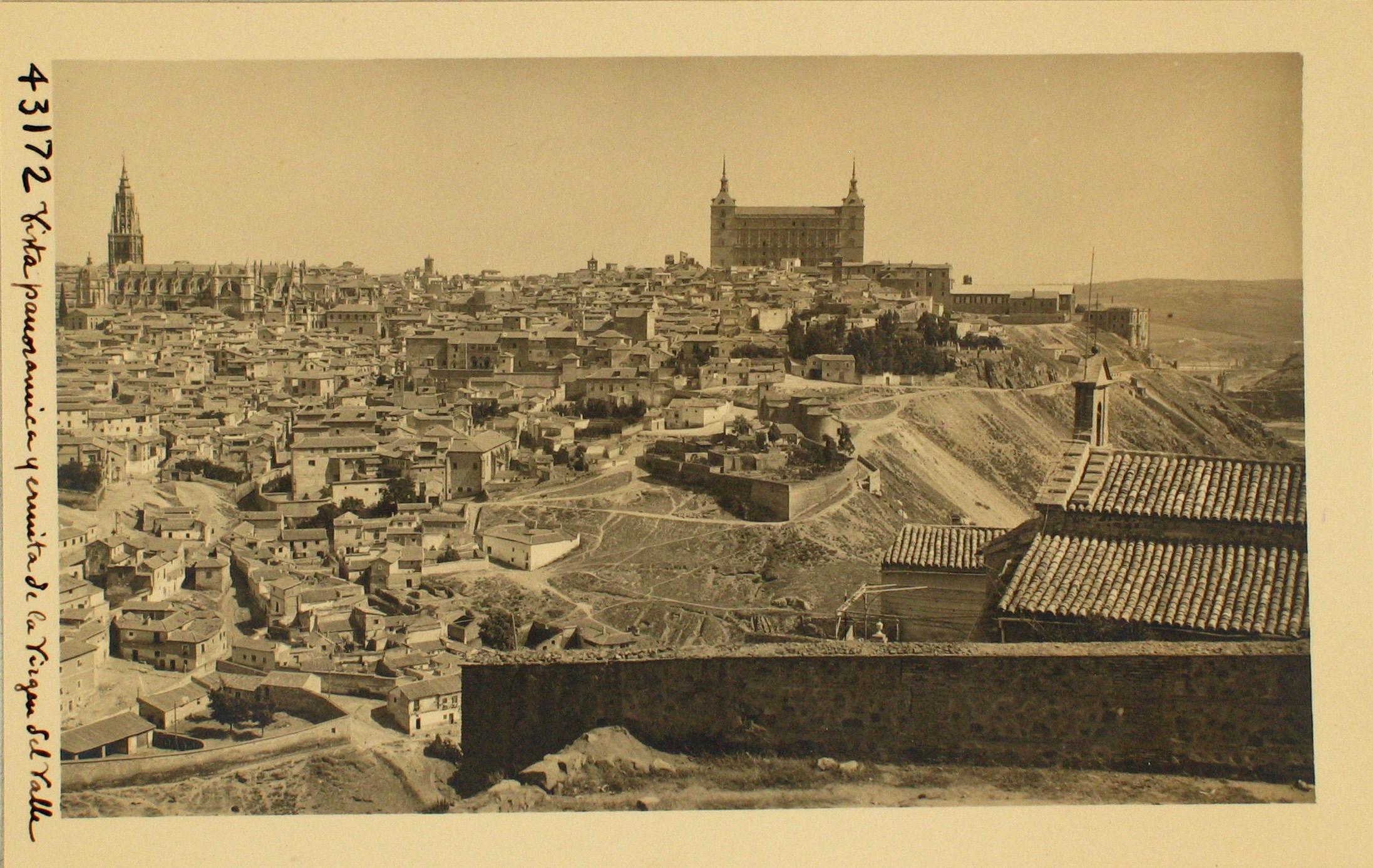 43172-Panorámica de Toledo y Ermita de la Virgen del Valle