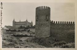 43177-Torreón del Castillo y al fondo el Alcázar
