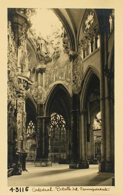 43116-Detalle de la bóveda perforada en el Transparente